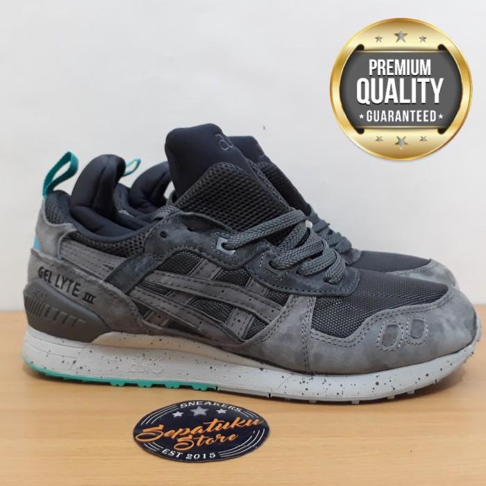 harga Sepatu asics gel lyte iii mid grey mint - premium quality  Tokopedia.com cca84790fe