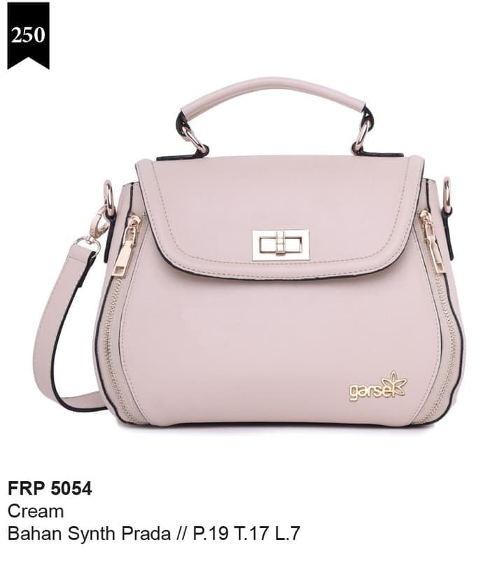 Tas Selempang Wanita Premium Prada Cream Garsel Apparel - FRP 5054