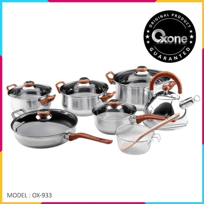 harga Ox-933 panci oxone eco cookware set 12+ 2pcs Tokopedia.com