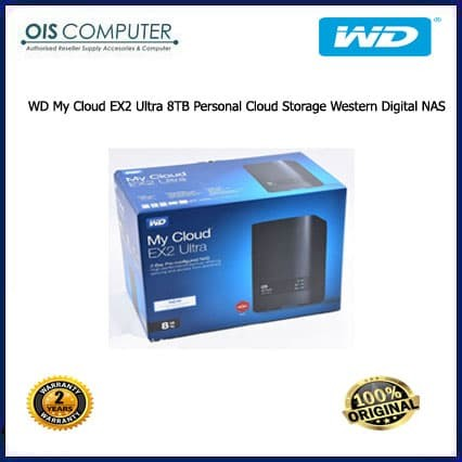 Jual WD My Cloud EX2 Ultra 8TB Personal Cloud Storage Western Digital NAS -  ORIGINAL IT SHOP   Tokopedia