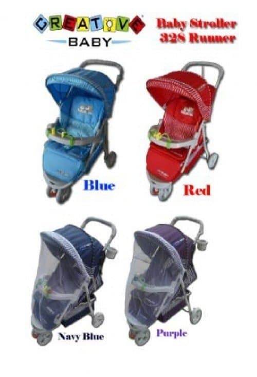 harga Stroller roda 3 creative baby 328 runner kereta dorong anak bayi murah Tokopedia.com