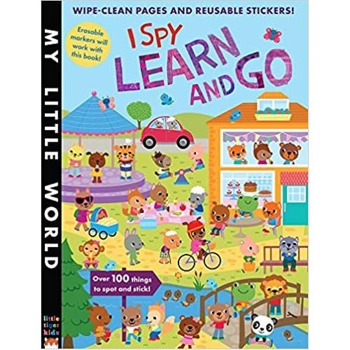 I Spy Pictures >> Jual I Spy Learn And Go My Little World 9781848691230 Kab Tangerang Books Beyond Tokopedia