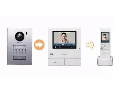 Foto Produk Video Door Phone Wireless Panasonic VL-SWD501BX Wireless doorphone dari Terang Jaya Store