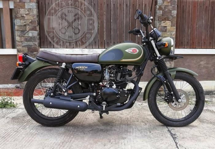 Jual Jok Custom Kawasaki W175 Lapak Bhandhes Tokopedia