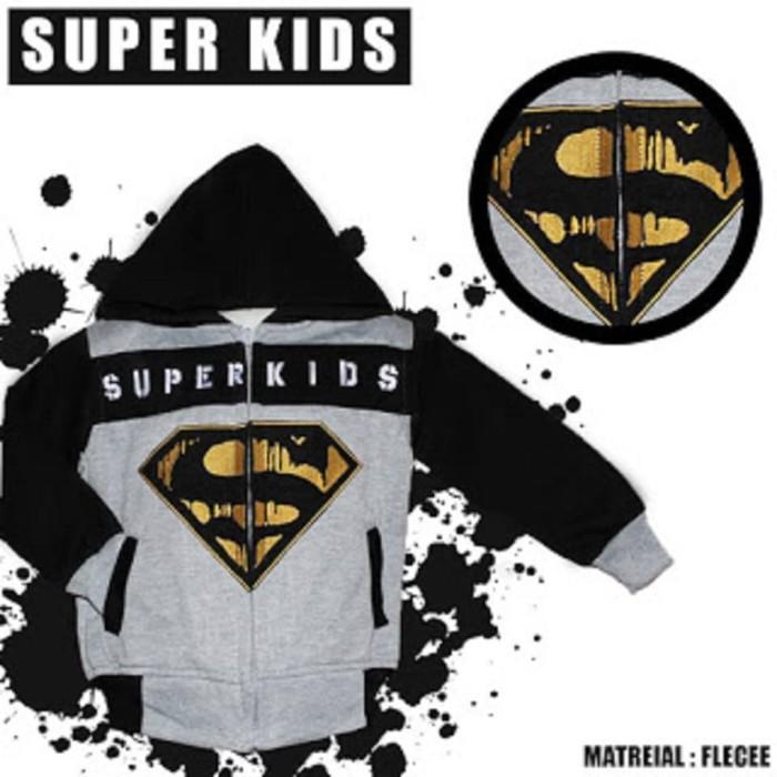 0cf781201e7f Jual Jaket Anak Balita Motif Super Kids - Khanza Busana