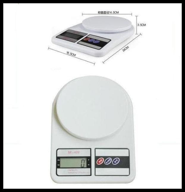 10Kg 10 Kg Timbangan Digital Dapur Barang Sf-400 Sf 400 Kitchen Scale