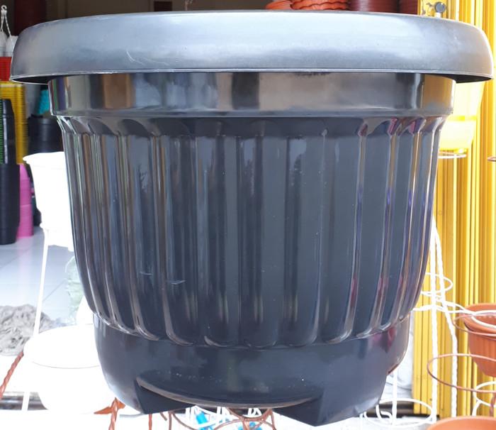 Jual Pot 55 Hitam (NKH) / Pot Bunga 55 NKH Hitam / Pot