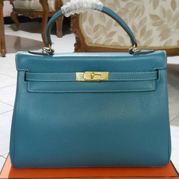 ... order new hermes kelly original leather tas fashion wanita branded  handbag 9d6b8 365fa 22f33baa39