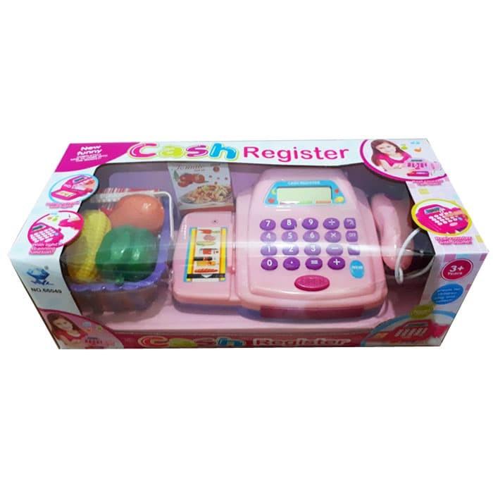 harga Cash register pink mainan kasir kasiran supermarket anak Tokopedia.com