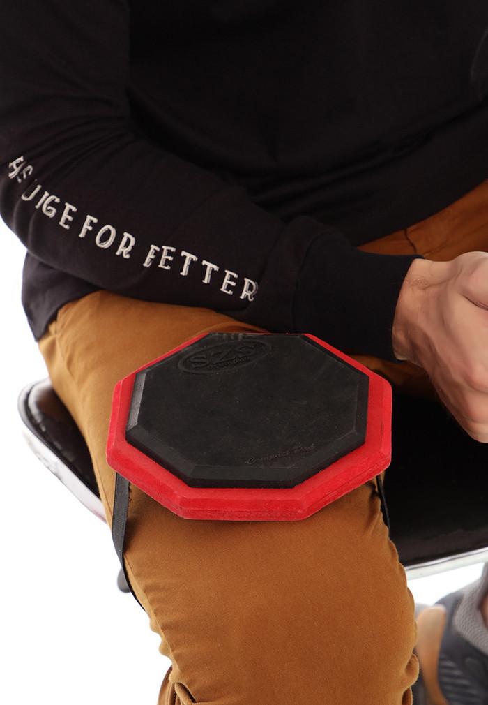 harga Szs drum pad compact 6  (red) bonus vcd lesson Tokopedia.com