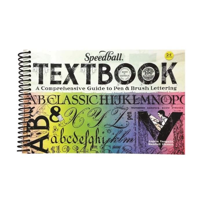 Foto Produk SPEEDBALL Textbook 24th Edition - Guide to Pen & Brush Lettering dari Dreamshop