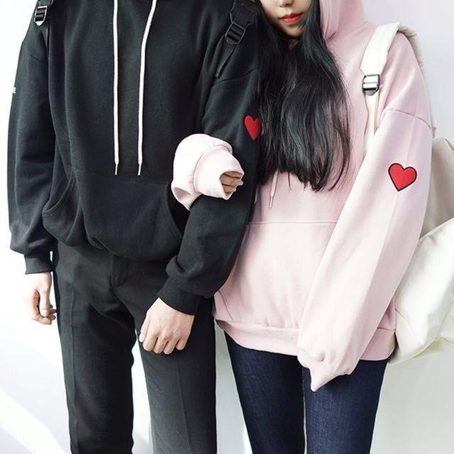 Jaket/Sweater/Hoodie Couple Tumblr Love/Hoodie Couple Logo Love