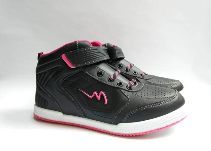 harga Sepatu sekolah anak hitam pink original mickelson grandblue sd 31-38 Tokopedia.com