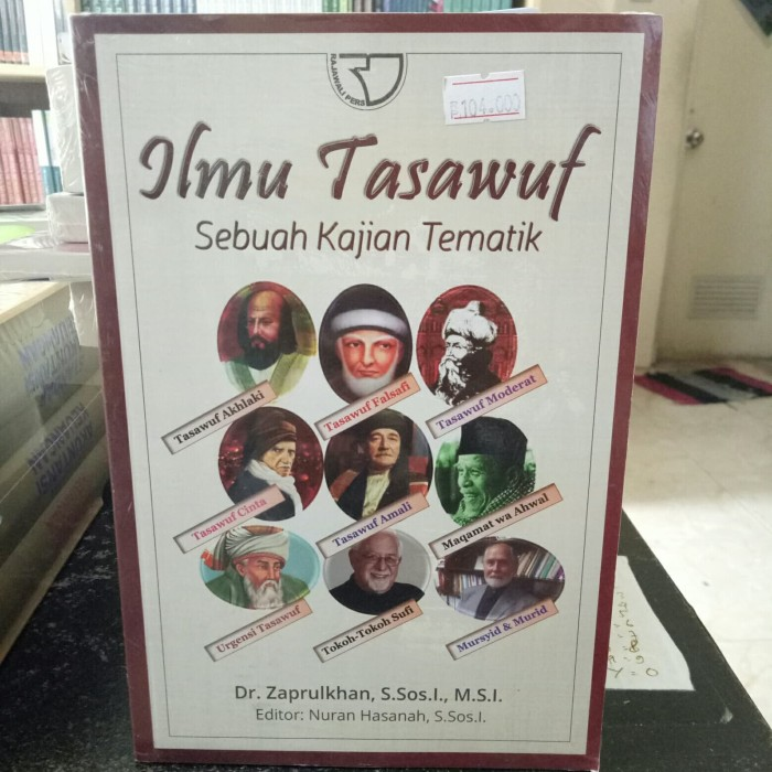 harga Ilmu tasawuf - dr zaprulkhan Tokopedia.com