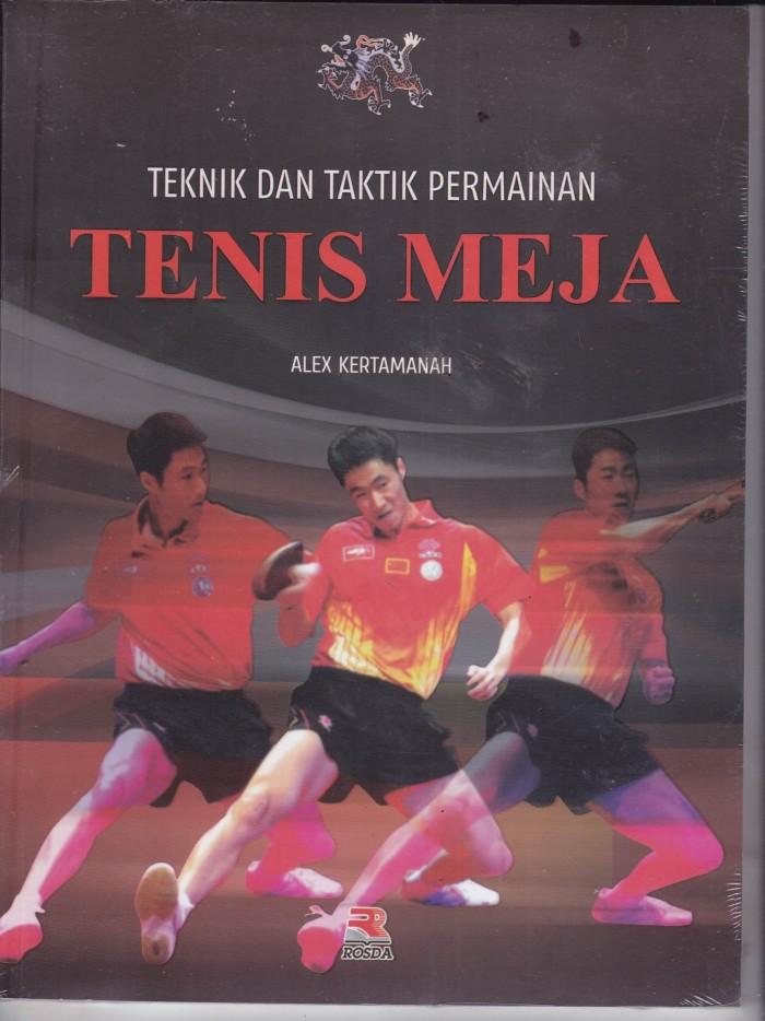 harga Tenis meja teknik dan taktik permainan Tokopedia.com
