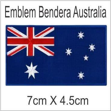 Australia Emblem Bordir Badge - Blanja.com