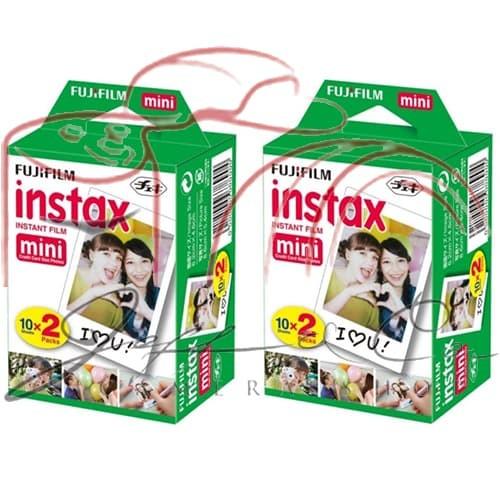 REFILL INSTAX 2 X TWINPACK (40 SHOTS) ... NEW !!
