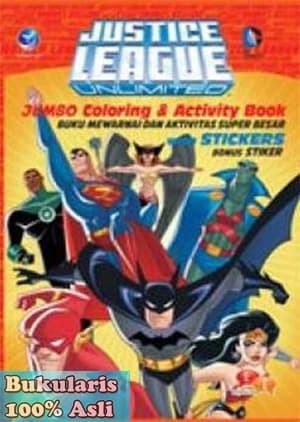 Jual Buku Justice League Unlimited Jumbo Coloring Activity Book Wb Jakarta Pusat Bukularis Tokopedia