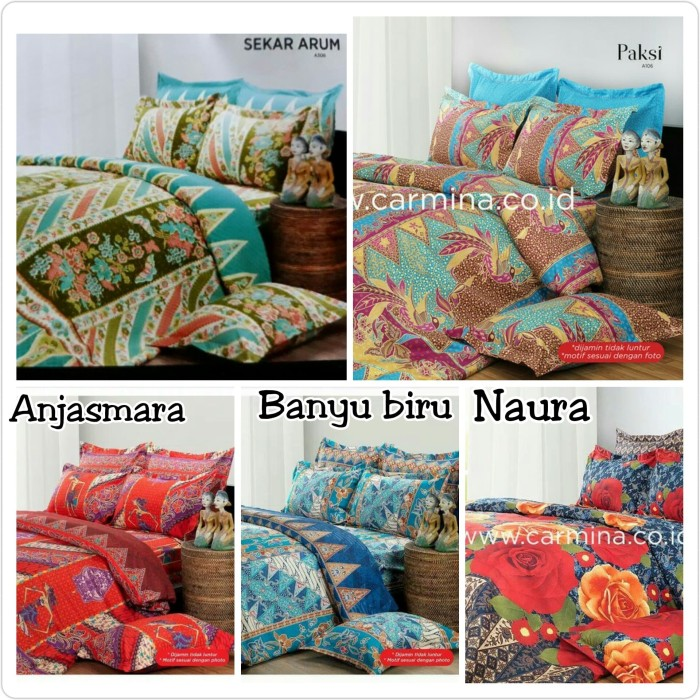 harga Sprei carmina new product by kendra uk180 Tokopedia.com