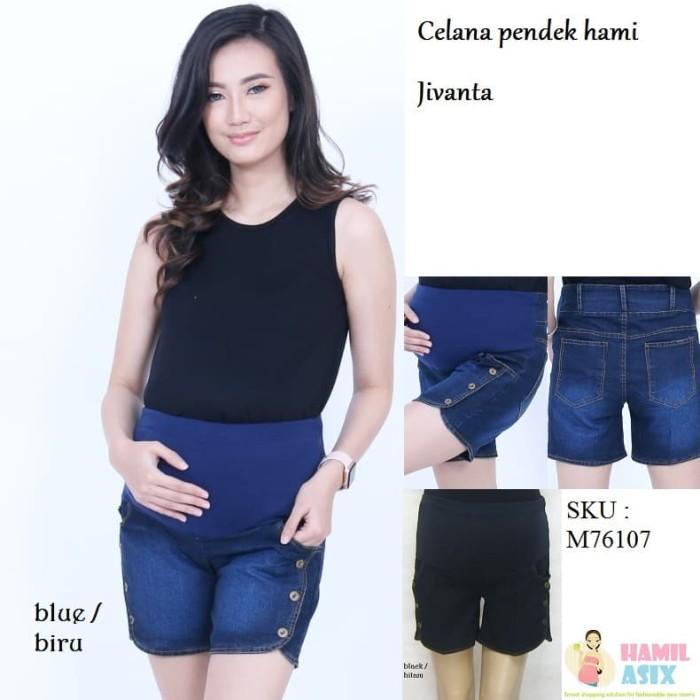 harga Jivanta celana pendek jeans hamil Tokopedia.com