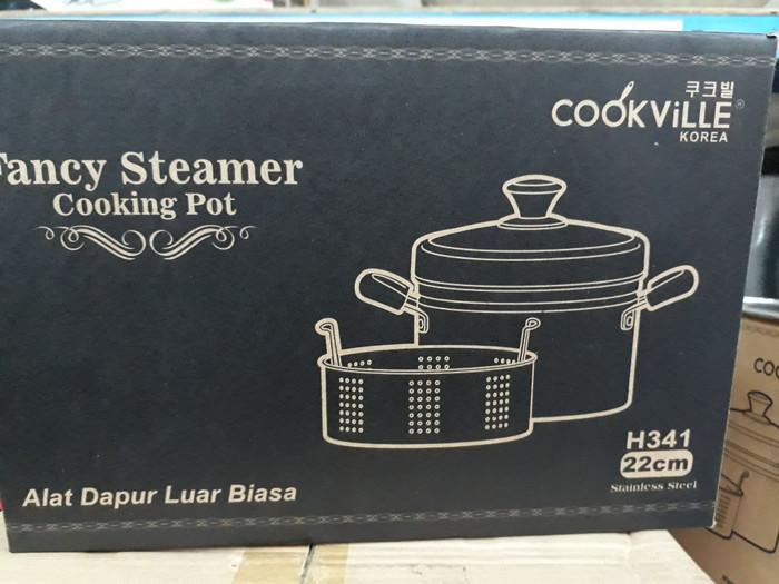 Panci steamer cookville / panci kukus cookville