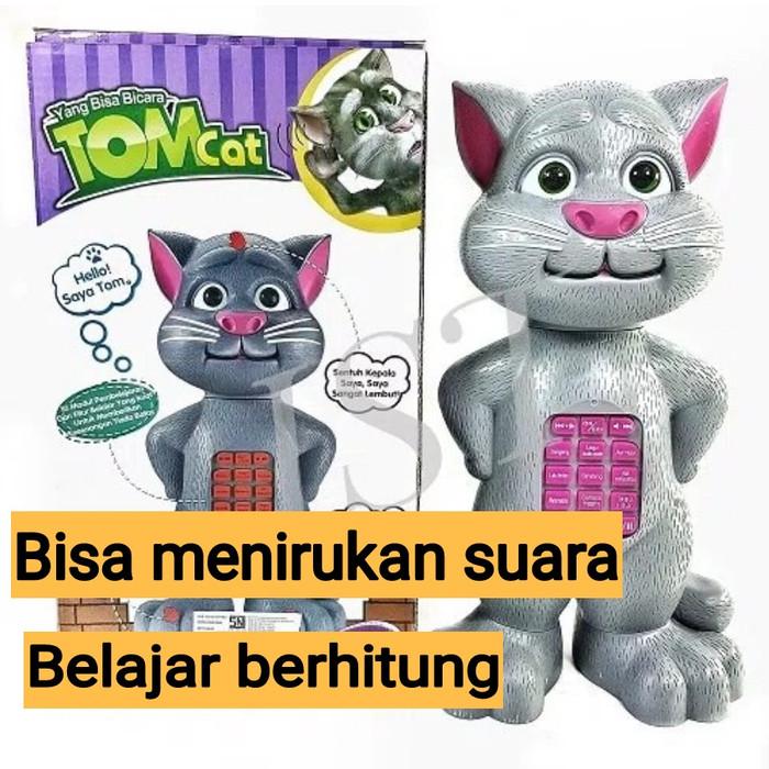 Mainan edukasi talking tomcat bisa berbicara bercerita berhitung