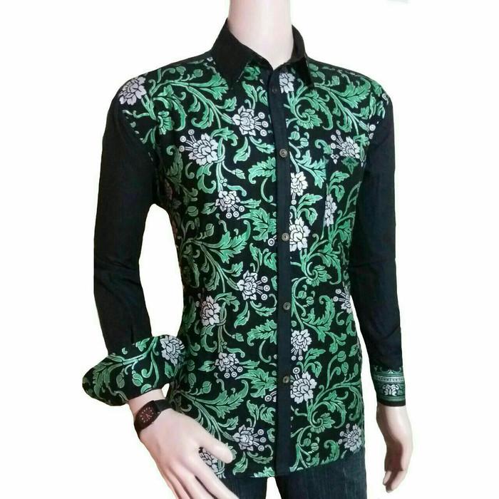 78 Model Baju Batik Hijau Paling Bagus