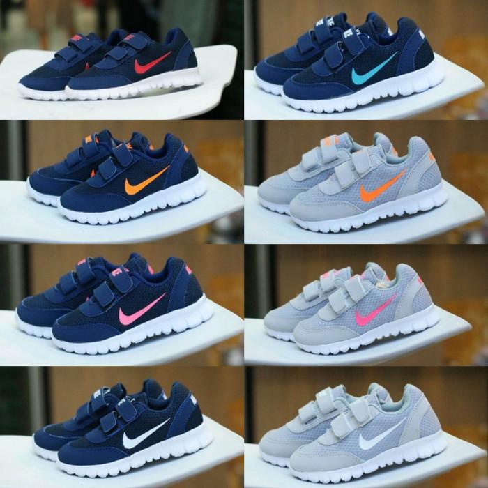 ... harga Nike free slip on size 25 - 30 sepatu anak pria wanita olahraga  lari Tokopedia 4a29b18a18