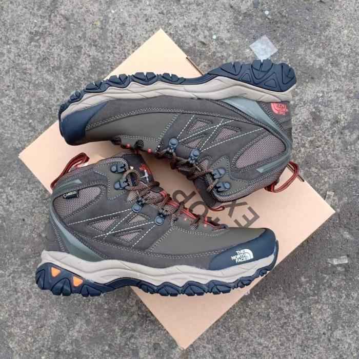 sepatu gunung TNF cedar messa mid the north face import premium BNIB -  Hitam dd6ab5a2cf