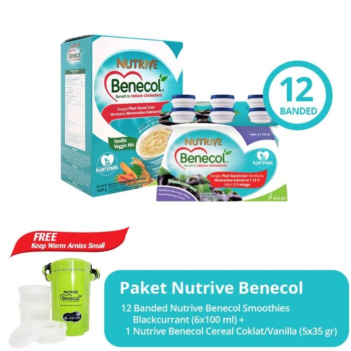 harga Paket nutrive benecol blackcurrent & cereal free keep warm arnis small Tokopedia.com