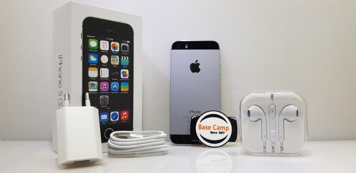 Jual iPhone 5s 32Gb Grey Fullset Second Original - Sbasecamp  360ca0be8b