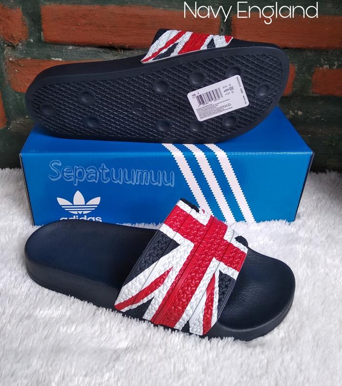 d0e95660f Jual Sandal Adidas Adilette Sendal Adidas Slop Sandal Sport - Kab ...