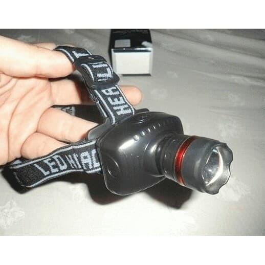 LIGHTING LIFE Lampu Senter Kepala Zoom /Led High Power Zoom/senter