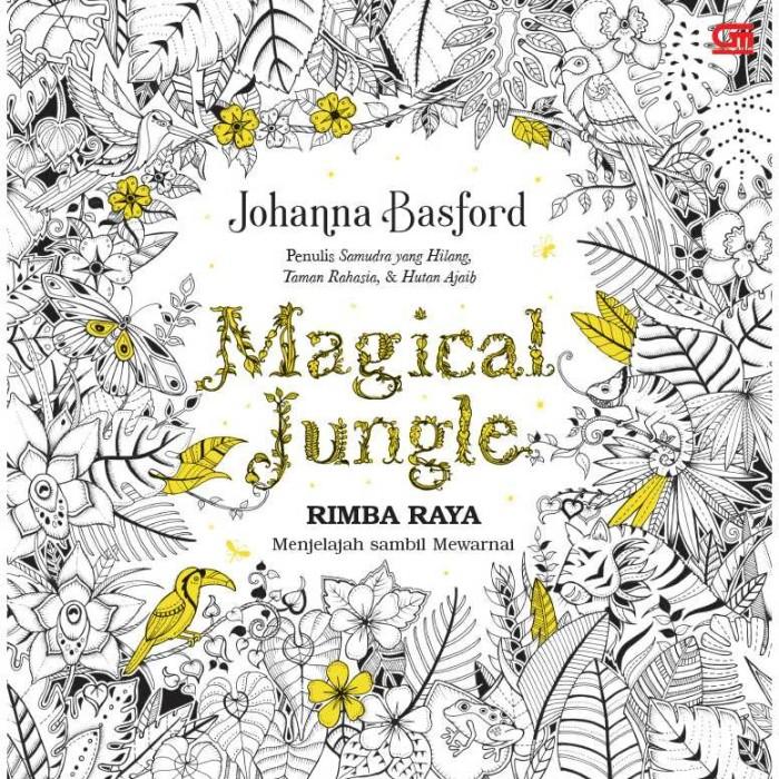 Jual Art Therapy Rimba Raya Magical Jungle Buku Mewarnai Gramedia Jakarta Pusat Iswara Merch Tokopedia