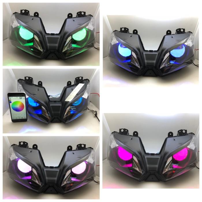 harga Headlamp kawasaki zx636 buat ninja 250 fi devil wifi control app hp Tokopedia.com
