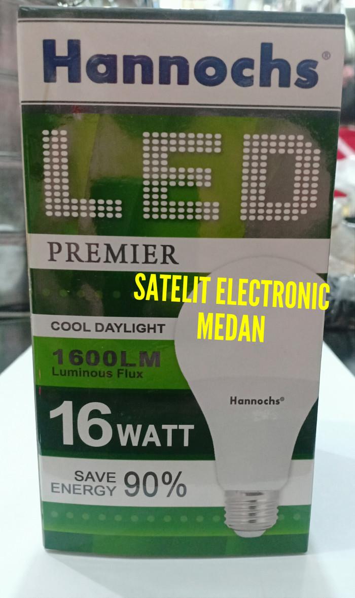 Jual Lampu LED Hannochs Premier 16 W / 16 Watt - Bergaransi (Hemat Listrik) - Putih - satelit8 | Tokopedia