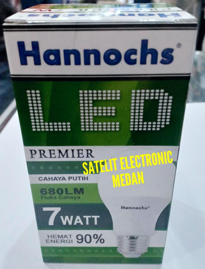 Lampu LED Hannochs Premier 7 W / 7 Watt - Bergaransi ( Hemat Listrik ) - Putih