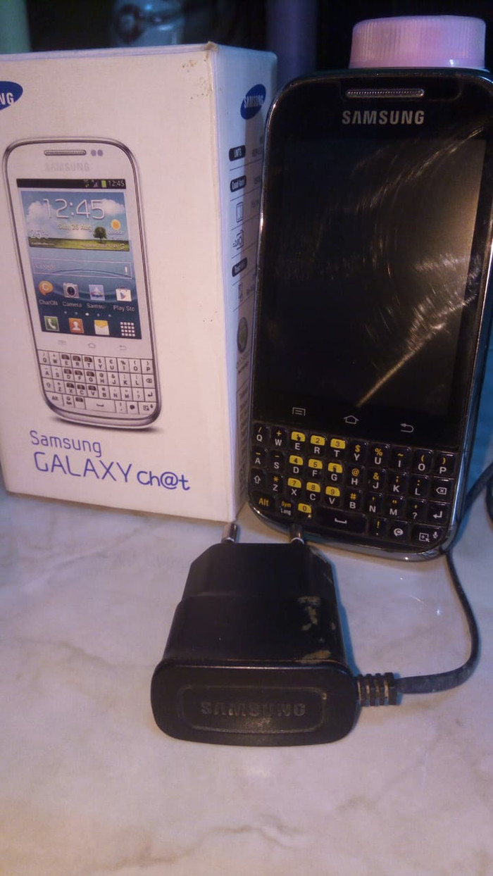 Samsung Galaxy Chat GT-B5330 - Hitam
