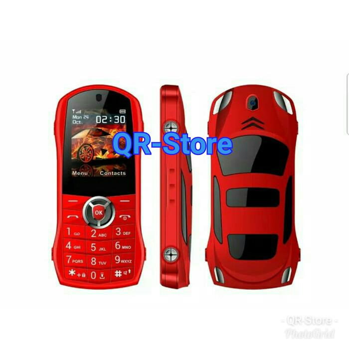 harga Hp skycall bentuk mobil ferarri. handphone unik murah Tokopedia.com