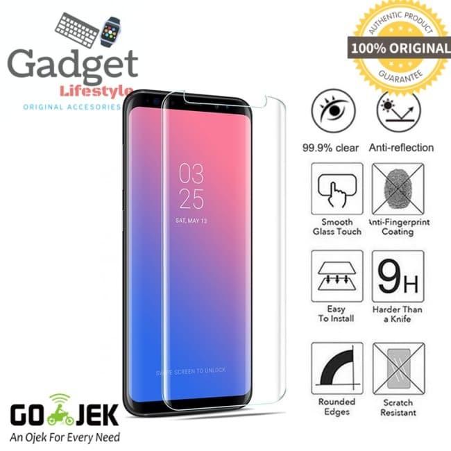 harga Original 3f full glue uv tempered glass samsung galaxy s9 - 5.8 inch Tokopedia.com