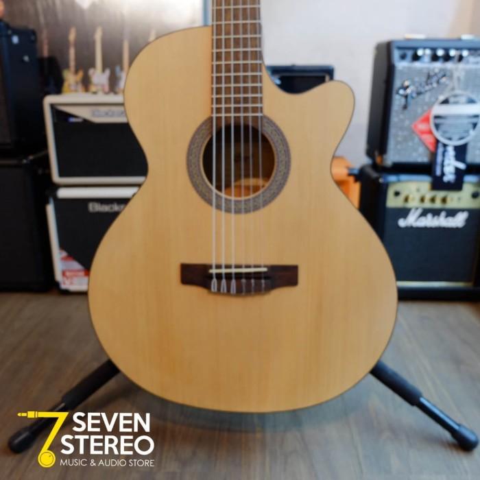 Jual Cort CEC1 OP Acoustic Electric Nylon Guitar - Kota