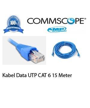 harga Kabel data lan amp-commscope utp cat6 15 meter Tokopedia.com