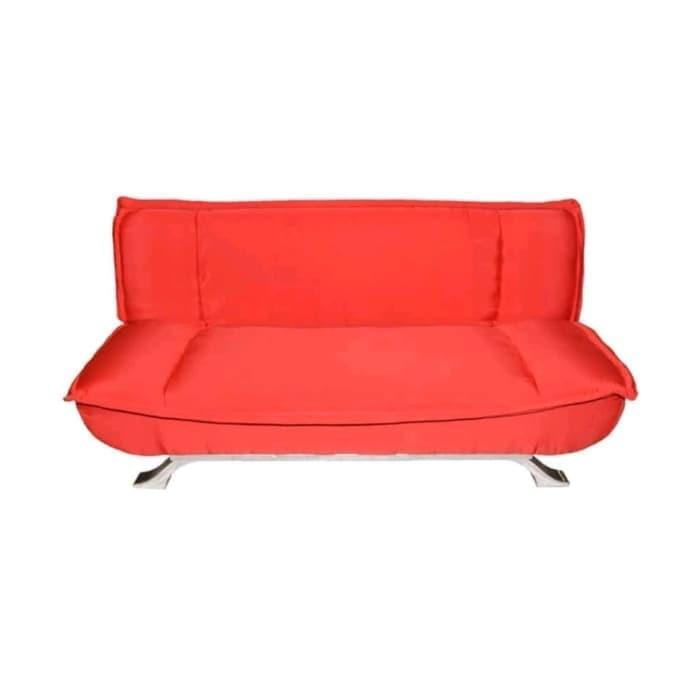 Foto Produk Volkswing Lux Relax Sofa / Sofa Tidur - Merah dari BlackBerry Queen Shop