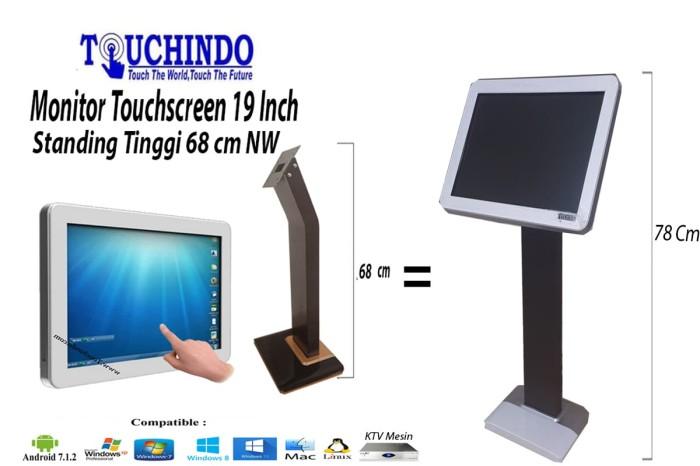 harga Monitor touchscreen 19 inch standing tinggi nw white Tokopedia.com
