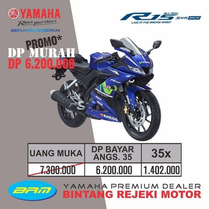 promo dp murah yamaha r15 serie moto gp rp. 6.200.000