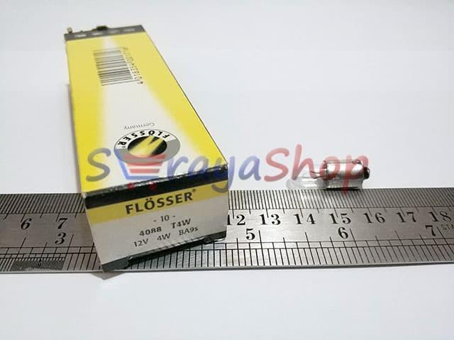 Foto Produk Lampu T11 T4W BA9S 12V Flosser dari Seraya Shop