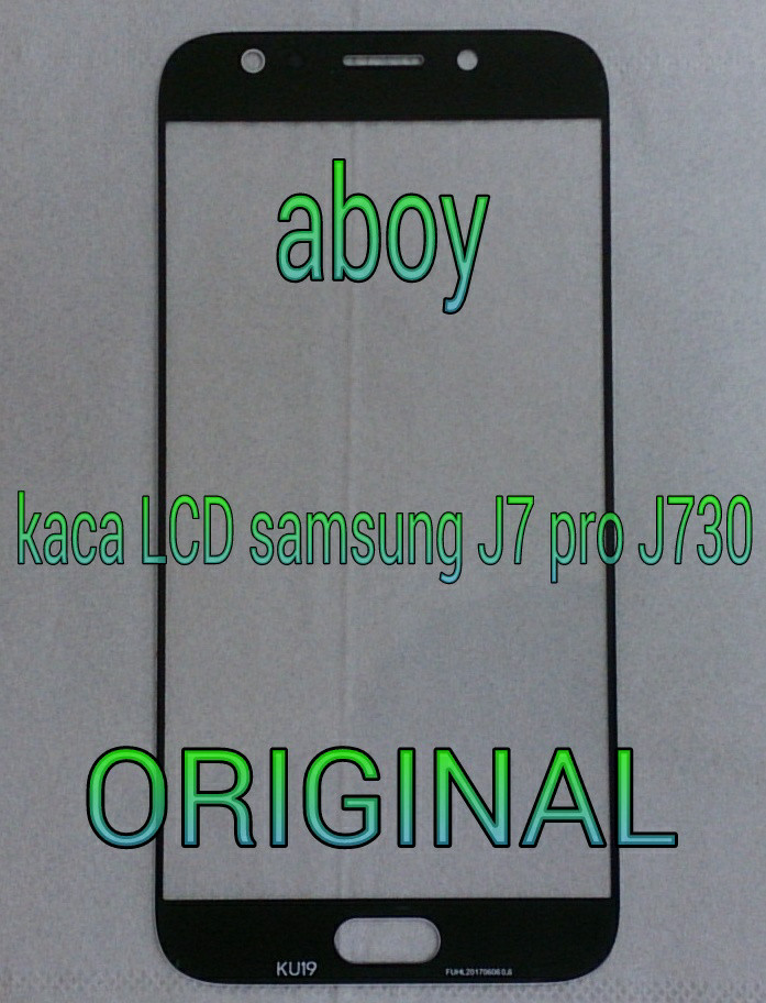 kaca LCD samsung galaxy J7 pro J730 WARNA GOLD ORIGINAL 100%