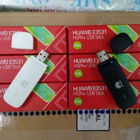 Huawei E3531 Original Modem USB GSM 21mbps Support SSH MMD Penangkap S
