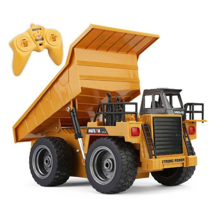 Big Dump Trucks >> Jual 24g 6ch Remote Control Alloy Dump Truck Rc Trucks Big Dump Truck Kota Bekasi Brother Shop Tokopedia