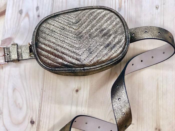 harga Tas steve madden original - sm belt bag chevron gold Tokopedia.com